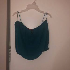 Guess Teal Tube Top